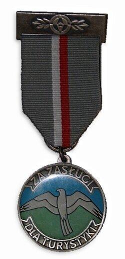 www.ptkrywan.pl - wyróżnienia : Medal za zasługi dla tustystyki